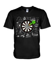 Darts V-Neck T-Shirt thumbnail