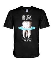 Dentist dental health V-Neck T-Shirt thumbnail