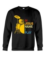 In Jesus name i play Crewneck Sweatshirt thumbnail