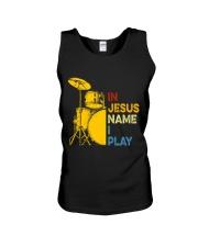 In Jesus name i play Unisex Tank thumbnail