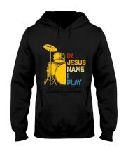 In Jesus name i play Hooded Sweatshirt thumbnail