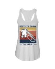 Dentist know the drill Ladies Flowy Tank thumbnail