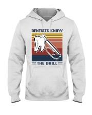 Dentist know the drill Hooded Sweatshirt thumbnail