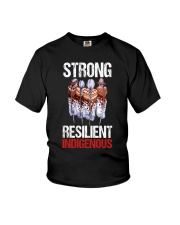 Strong resilient indigenous Youth T-Shirt thumbnail
