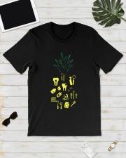 Dentist pinaple Classic T-Shirt lifestyle-mens-crewneck-front-17