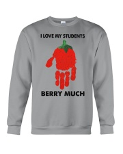 I love my students berry much Crewneck Sweatshirt thumbnail