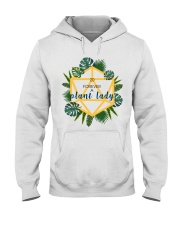 Crazy plant lady Hooded Sweatshirt tile