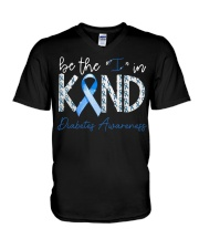 Diabetes Awareness V-Neck T-Shirt thumbnail