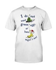 Vegan i am Classic T-Shirt thumbnail