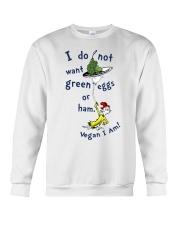 Vegan i am Crewneck Sweatshirt thumbnail