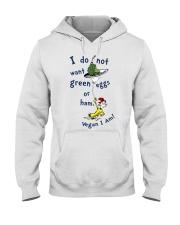 Vegan i am Hooded Sweatshirt thumbnail