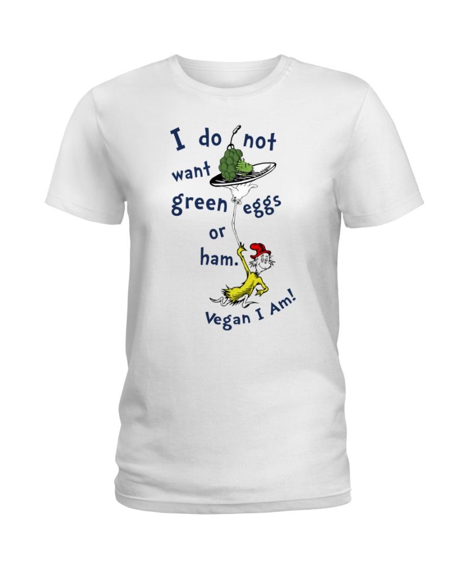 Vegan i am Ladies T-Shirt