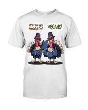 Vegan thankful Classic T-Shirt thumbnail