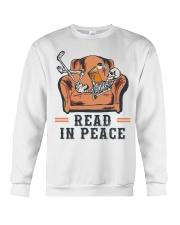 Read in peace Crewneck Sweatshirt thumbnail