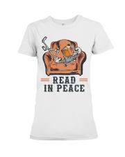 Read in peace Premium Fit Ladies Tee thumbnail