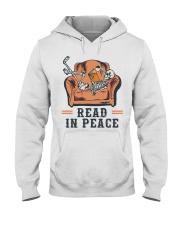 Read in peace Hooded Sweatshirt thumbnail