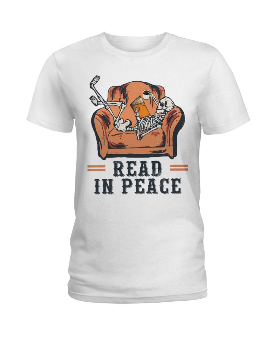 Read in peace Ladies T-Shirt