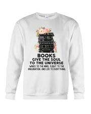 Books give the soul to the universe Crewneck Sweatshirt thumbnail