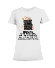 Books give the soul to the universe Premium Fit Ladies Tee thumbnail