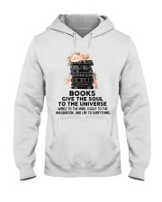 Books give the soul to the universe Hooded Sweatshirt thumbnail
