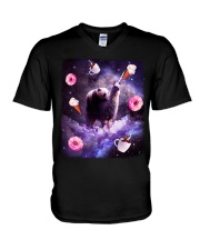 Panda V-Neck T-Shirt thumbnail