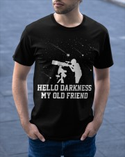 Hello darkness my old friend Classic T-Shirt apparel-classic-tshirt-lifestyle-front-46