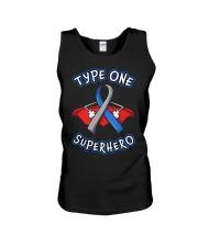 Type one superheroes Unisex Tank thumbnail