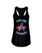 Type one superheroes Ladies Flowy Tank thumbnail