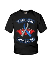Type one superheroes Youth T-Shirt thumbnail