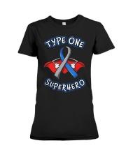 Type one superheroes Premium Fit Ladies Tee thumbnail
