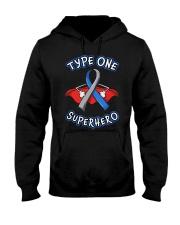 Type one superheroes Hooded Sweatshirt thumbnail