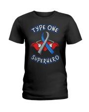 Type one superheroes Ladies T-Shirt thumbnail