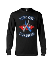 Type one superheroes Long Sleeve Tee thumbnail
