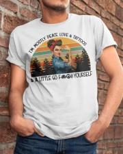 Peace Classic T-Shirt apparel-classic-tshirt-lifestyle-26