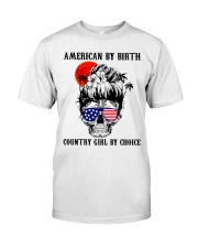 Country girl by choice Classic T-Shirt tile