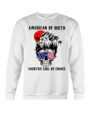 Country girl by choice Crewneck Sweatshirt tile