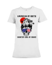 Country girl by choice Premium Fit Ladies Tee thumbnail