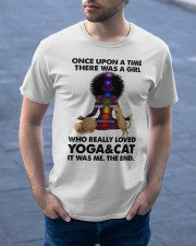 Yoga and cat Classic T-Shirt apparel-classic-tshirt-lifestyle-front-46