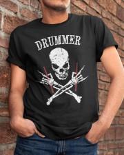 Drummer Classic T-Shirt apparel-classic-tshirt-lifestyle-26