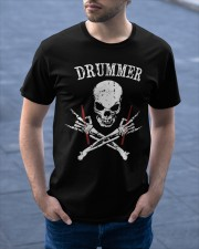 Drummer Classic T-Shirt apparel-classic-tshirt-lifestyle-front-46