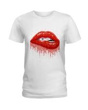 Braces Lip Ladies T-Shirt thumbnail