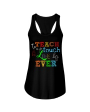 To teach is to tough a life forever Ladies Flowy Tank thumbnail