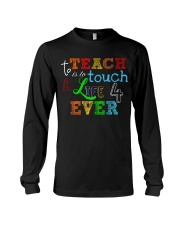 To teach is to tough a life forever Long Sleeve Tee thumbnail