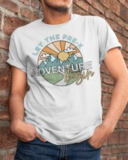 Let the pre k adventure begin Classic T-Shirt apparel-classic-tshirt-lifestyle-26