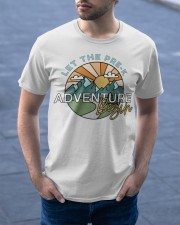 Let the pre k adventure begin Classic T-Shirt apparel-classic-tshirt-lifestyle-front-46