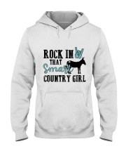 Country girl Hooded Sweatshirt thumbnail