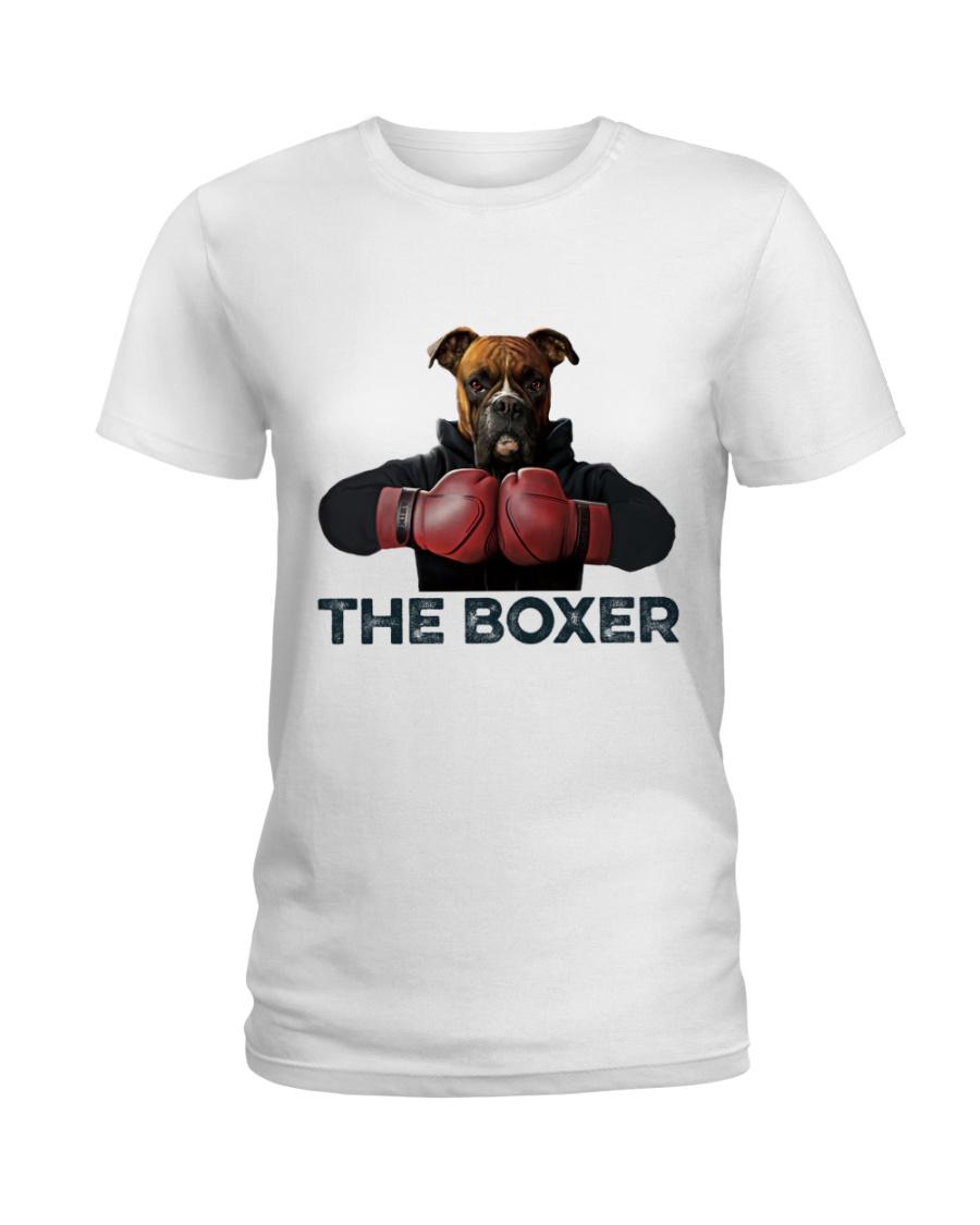 The Boxer Ladies T-Shirt