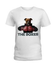 The Boxer Ladies T-Shirt front