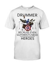 Drummer Classic T-Shirt front