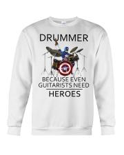Drummer Crewneck Sweatshirt thumbnail